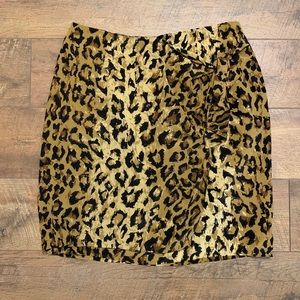 SAKS The Works silk skirt